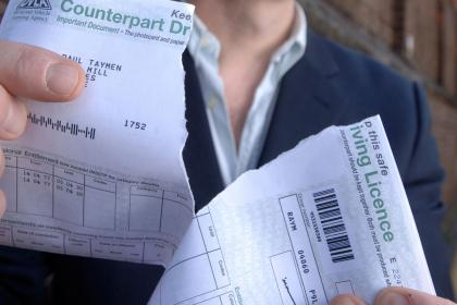 DVLA Abolishes the Use for Counterpart