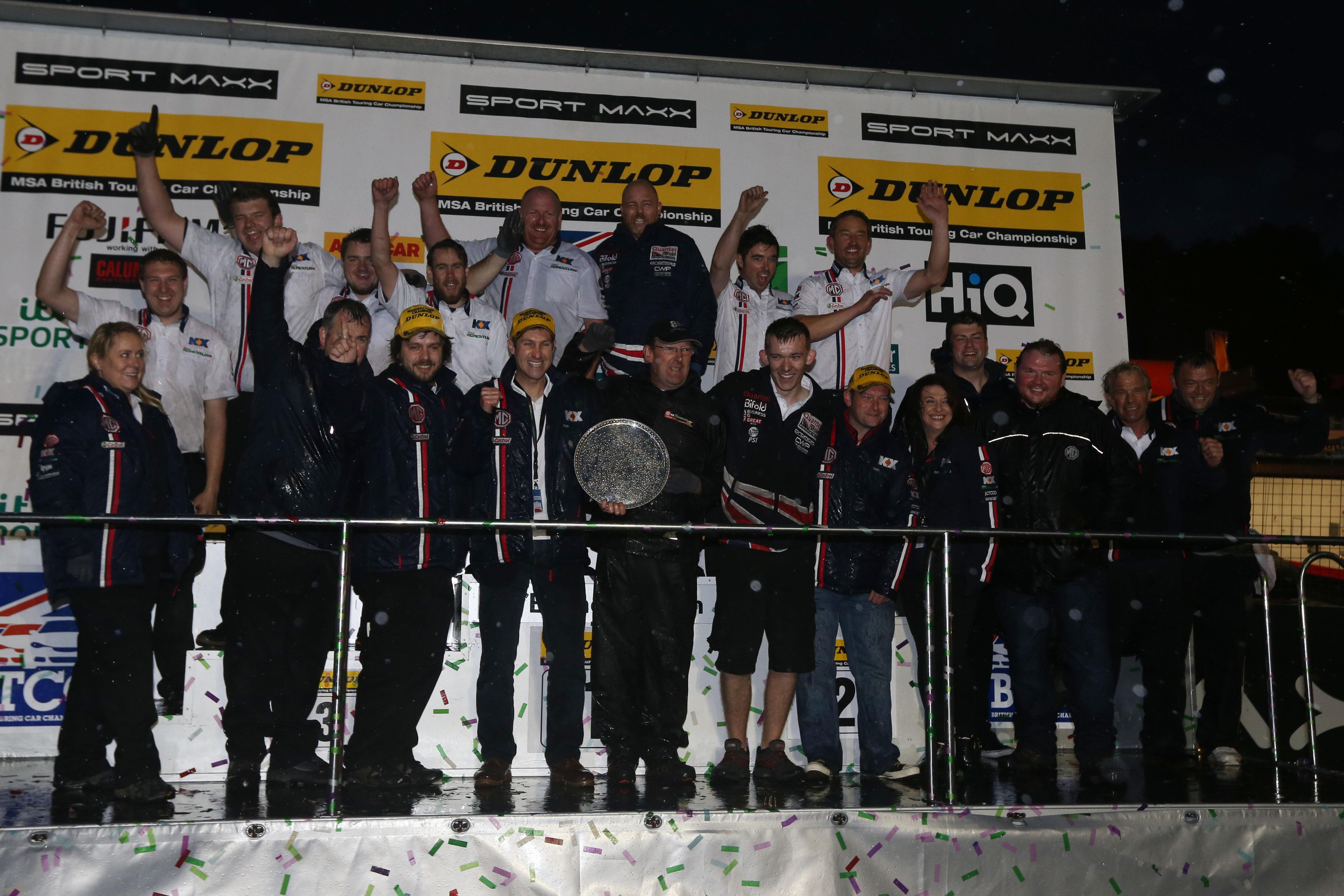 MG wins first British Touring Car Championship manufacturer title