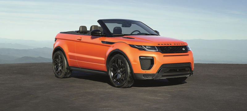 Land Rover Evoque Convertible 2016