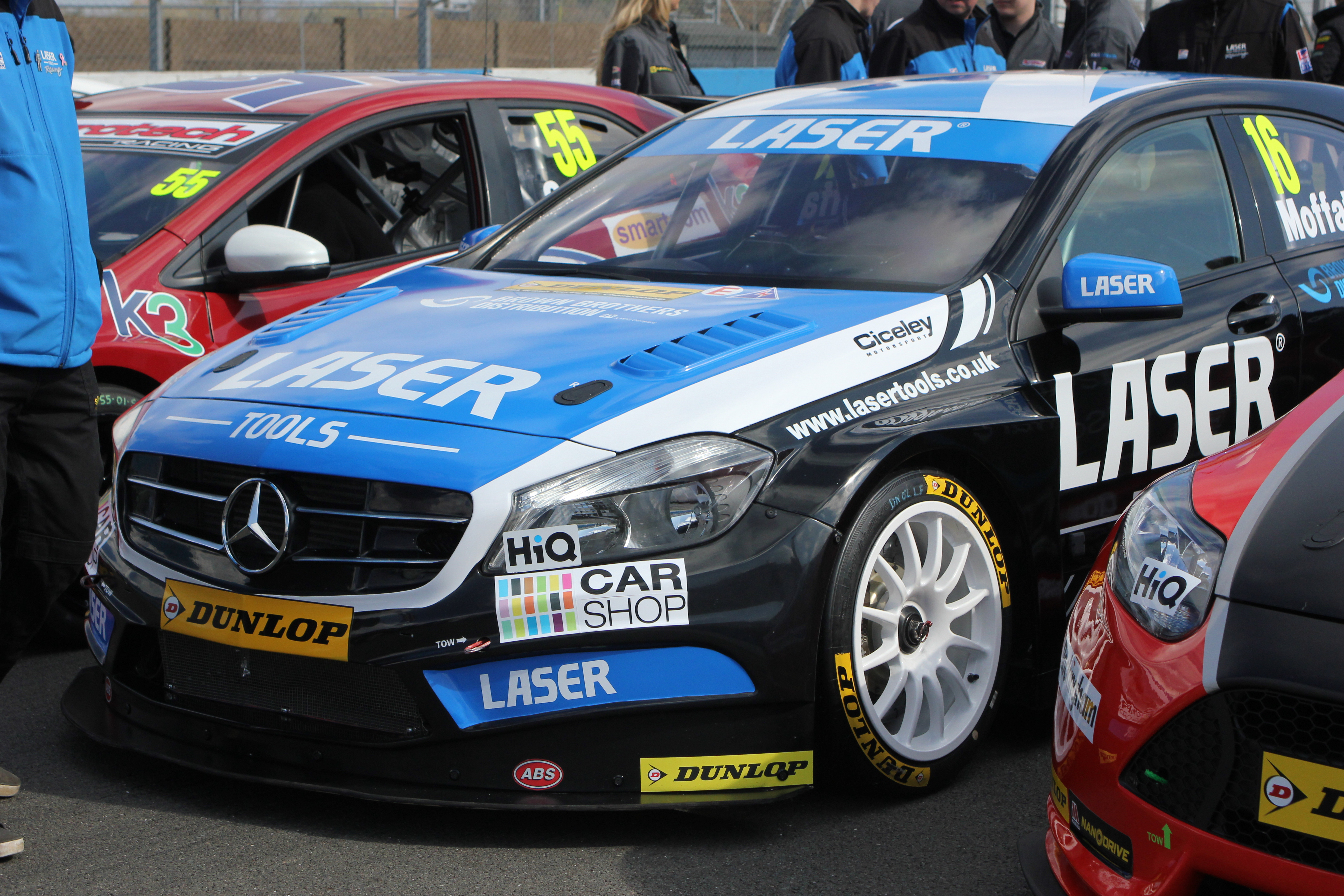 A Day with BTCC Laser Tools Racing