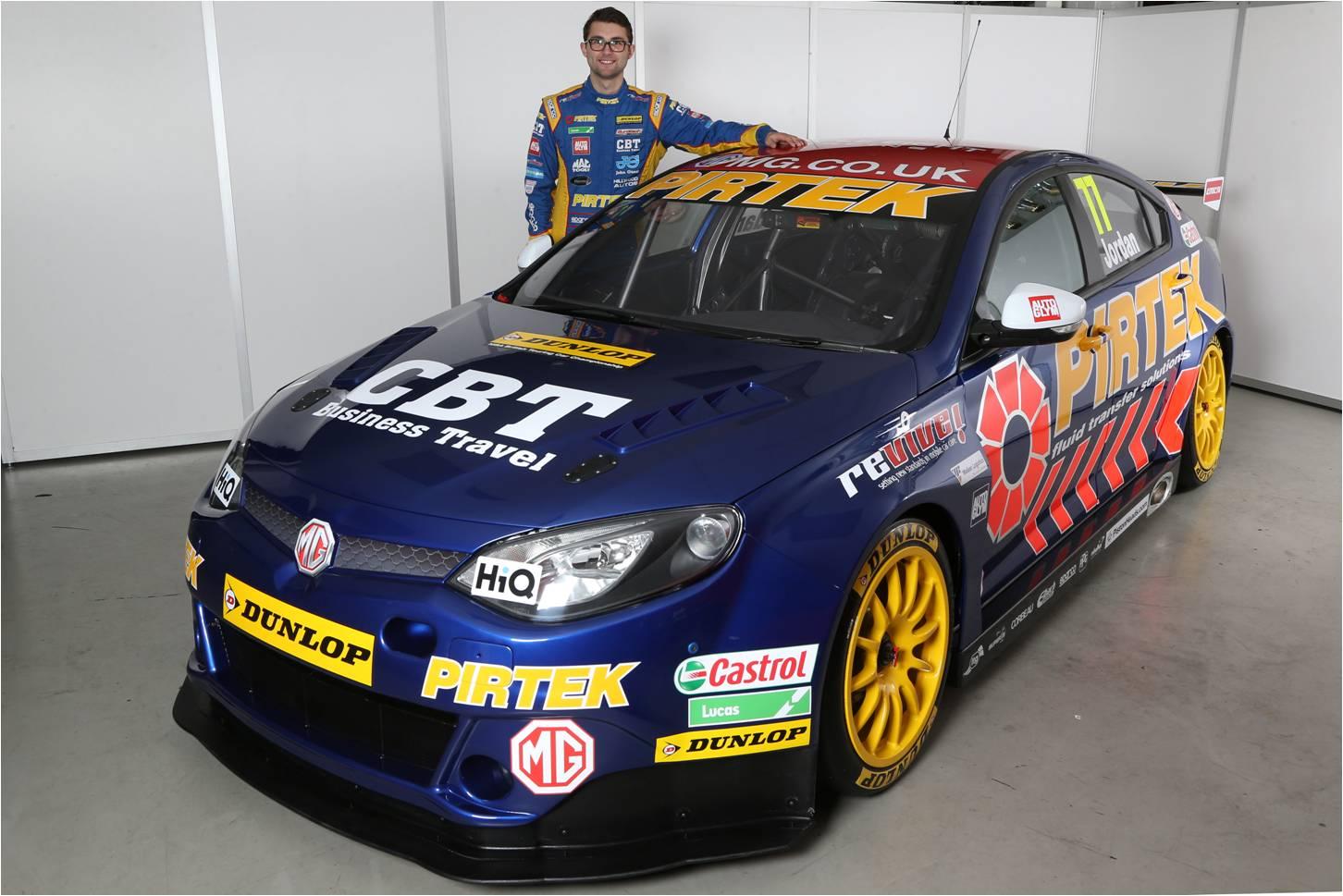 CarShop partner MG Signs Andrew Jordan to Defend BTCC Manufacturer Championship