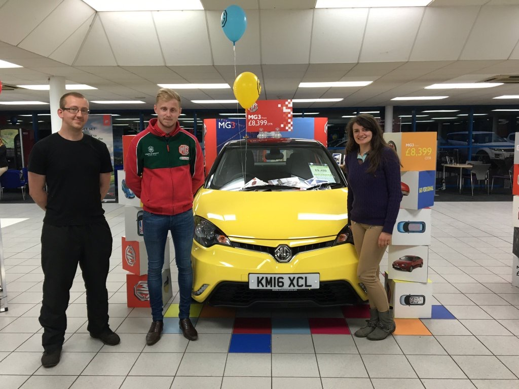 BTCC Star Attends MG Northampton Event