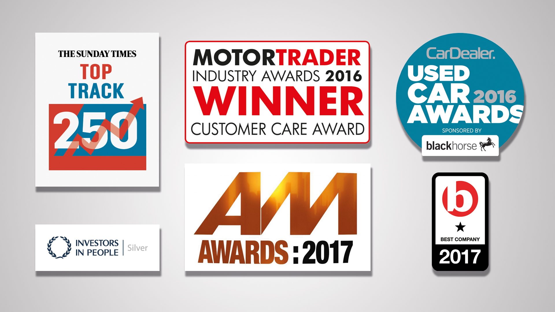 Awards: CarShop's award successes