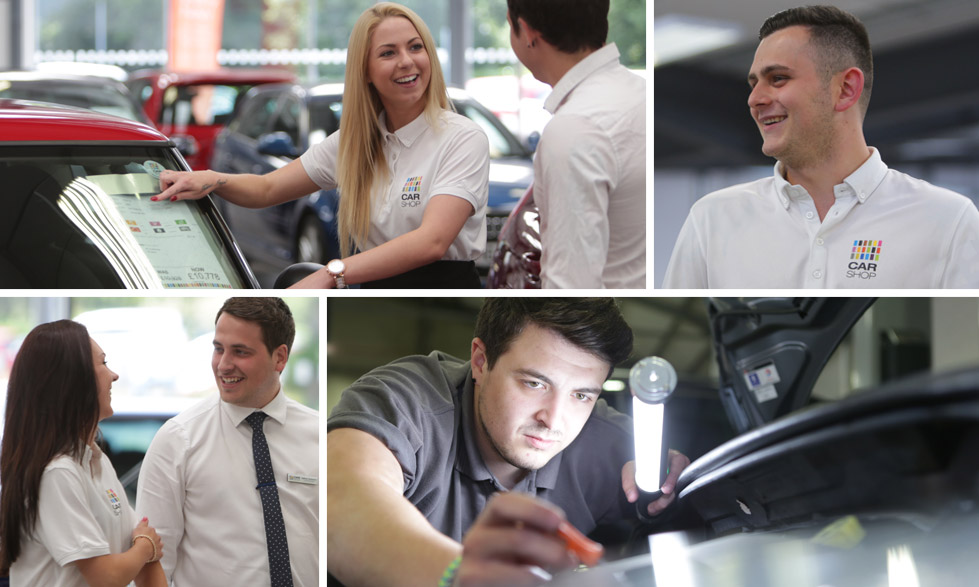 Careers at CarShop ? Taking the Next Step