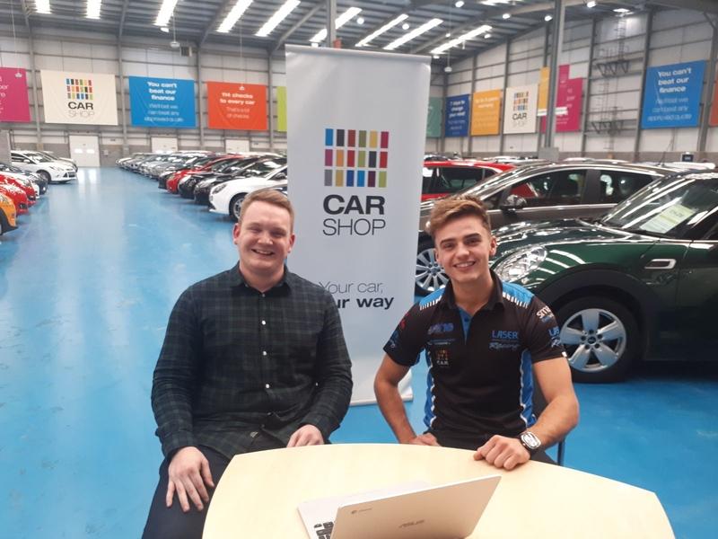 Sponsor: CarShop goes live with BTCC driver Aiden Moffat