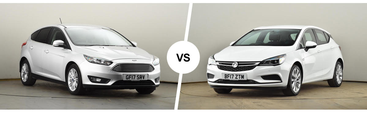Blog: The games continue: Vauxhall Astra vs Ford Focus - which is right for you?