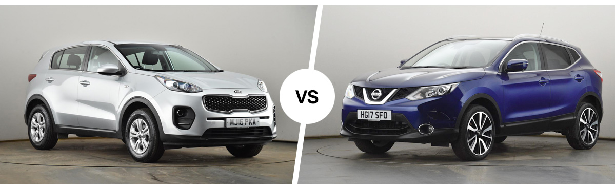 Blog: Let the games begin: Kia Sportage vs. Nissan Qashqai - which is right for you?
