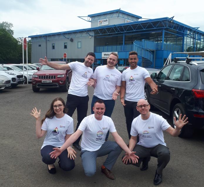 News: CarShop is beaming with Birmingham Pride