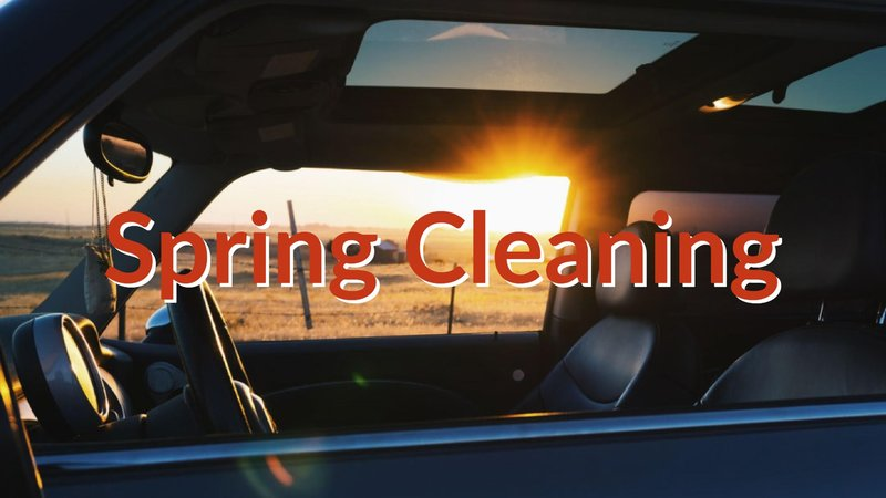 Blog: CarShop's Spring cleaning guide
