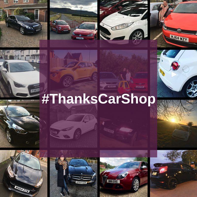 News: The #ThanksCarShop gallery