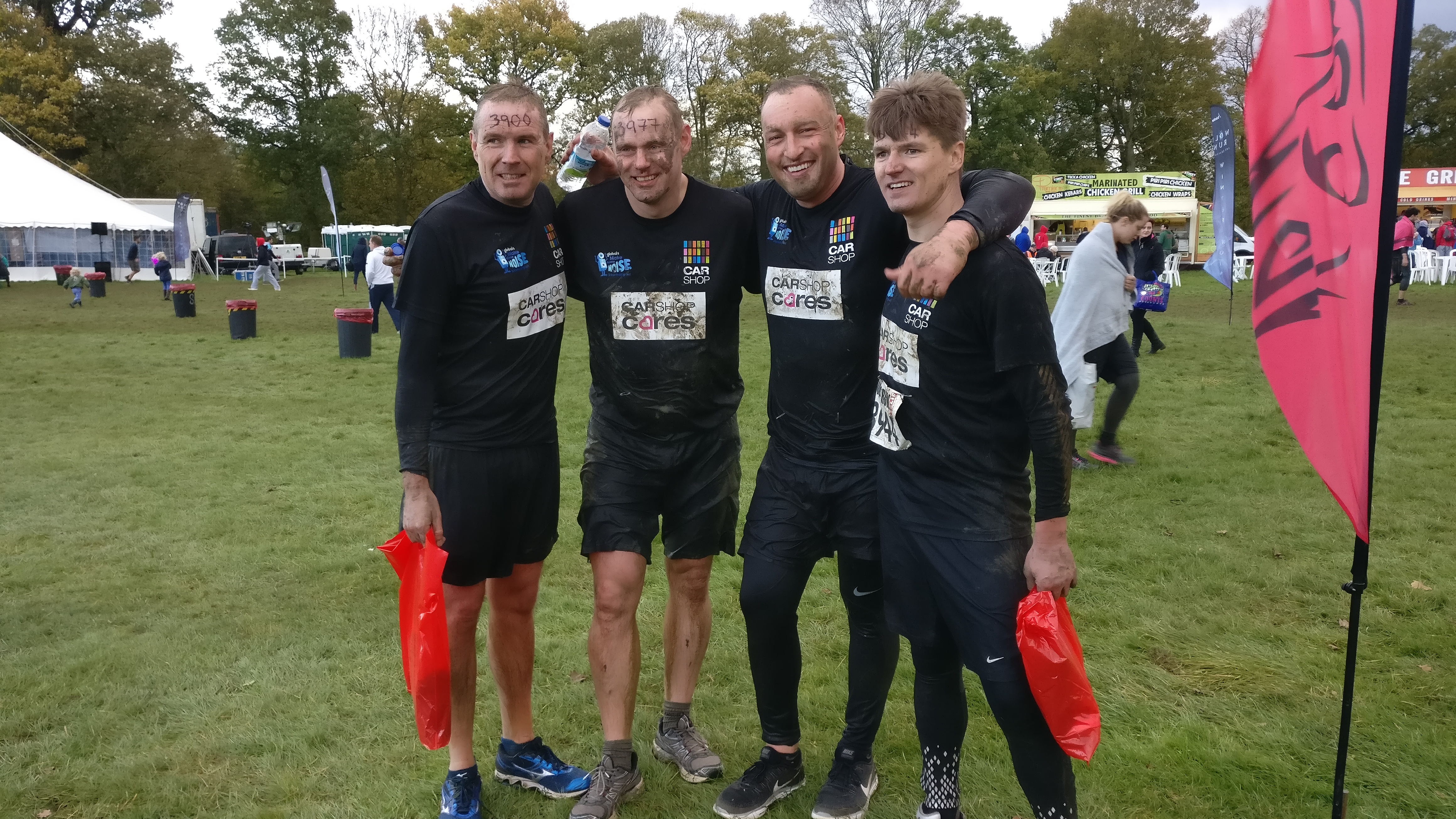 CarShop Executive Team Defeat the Mighty Wolf Run and Raise Over £12,000 for charity